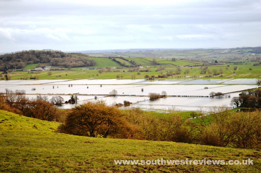 2014 flooding on the Somerset levels
