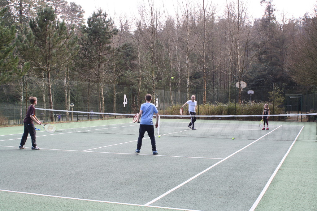 Tennis, Tennis court, Family, Center Parcs, Holiday