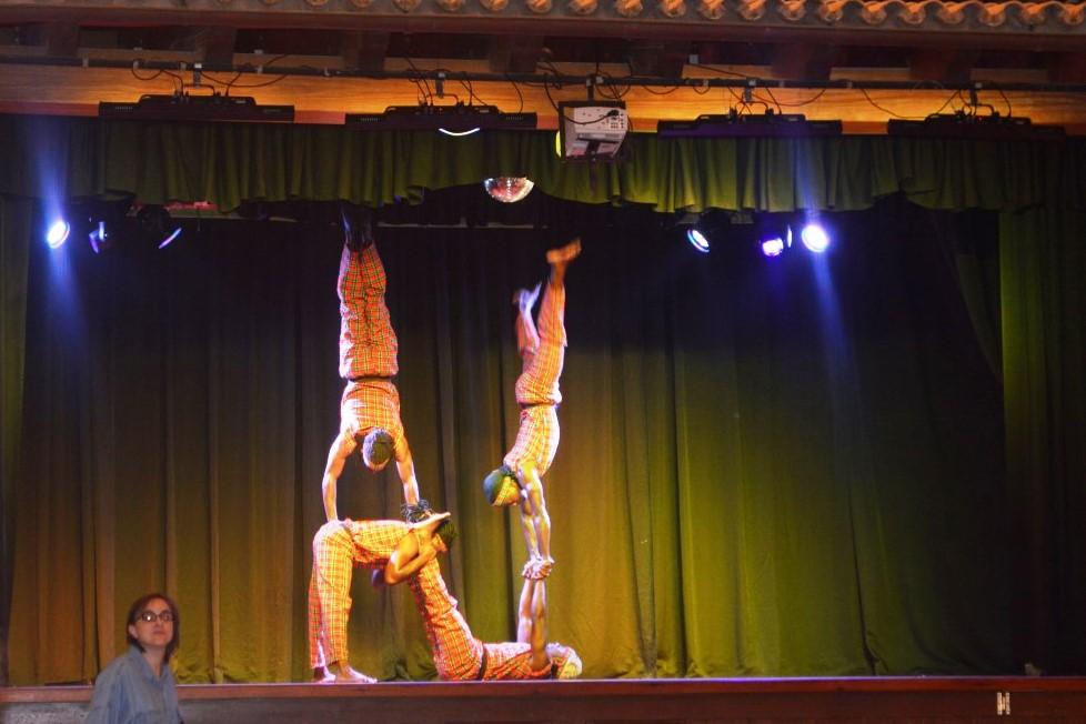 Caribbean Dancers in Menorca