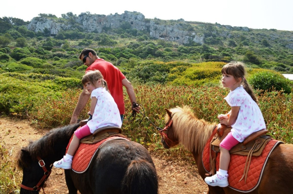 pony rides at Royal Son Bou Family Club