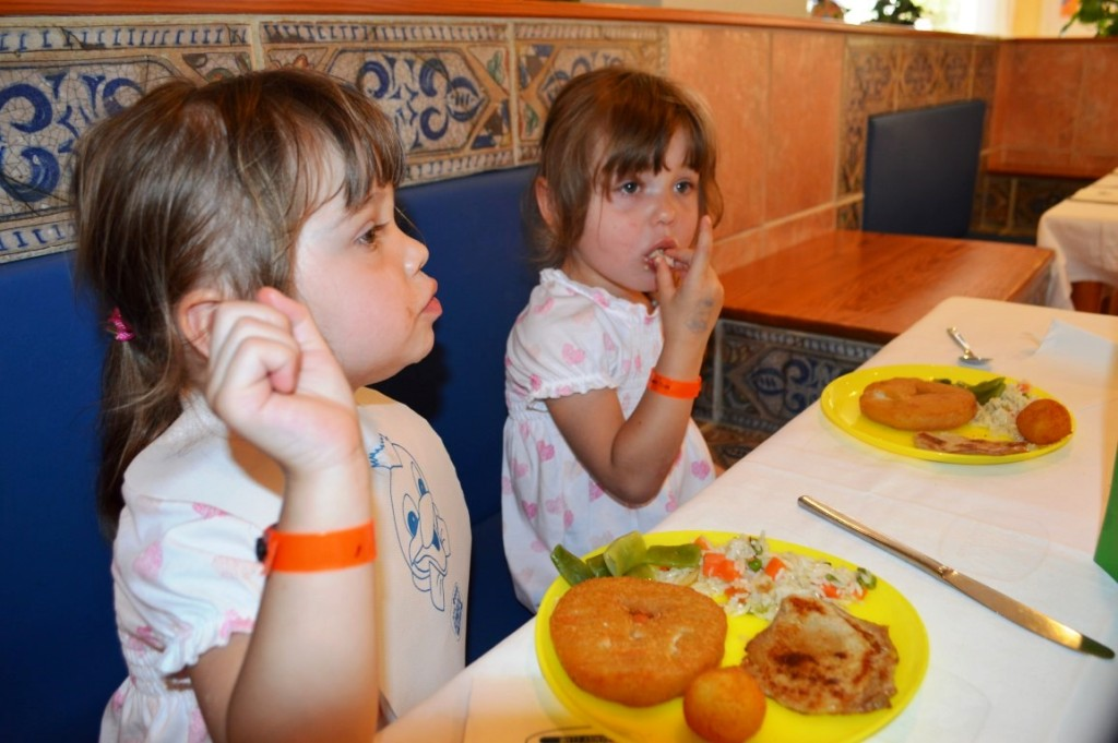 childrens food in Menorca