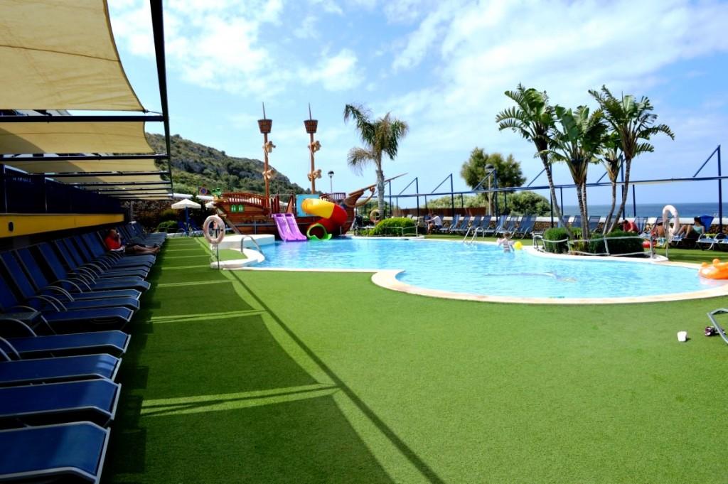 Children's pool at Royal Son Bou