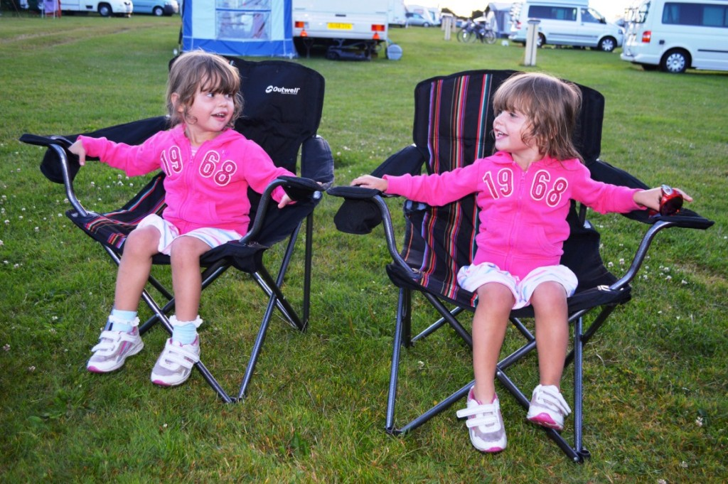 Camping with toddler twins