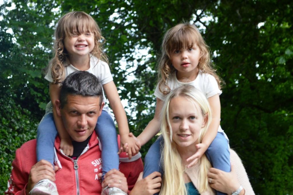 family walk in Devon