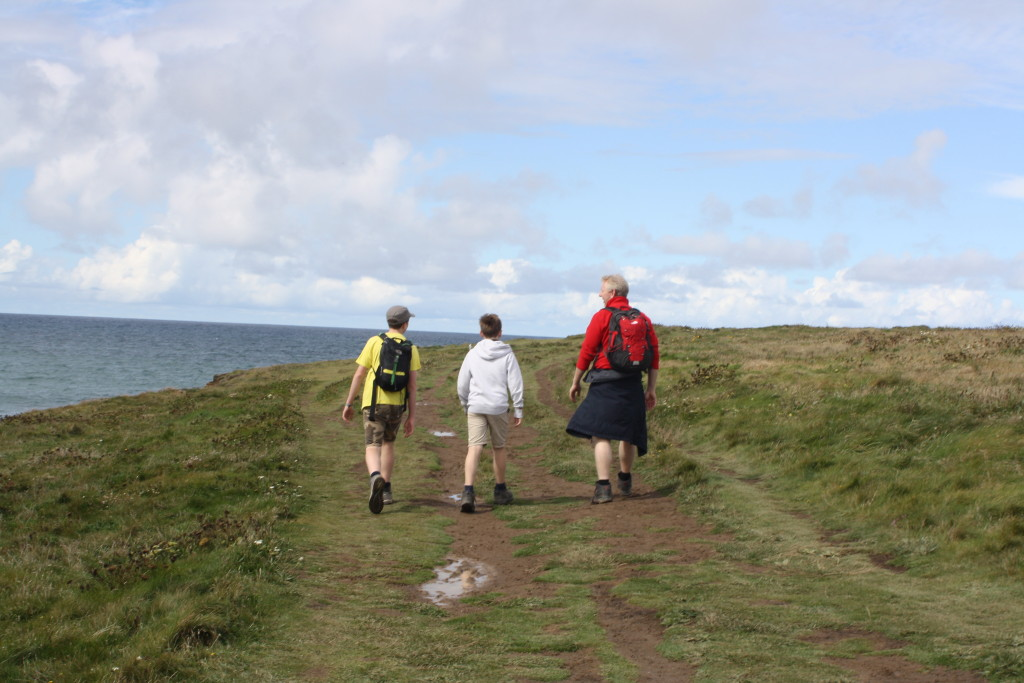 South West Coach Path, Family, Cornwall