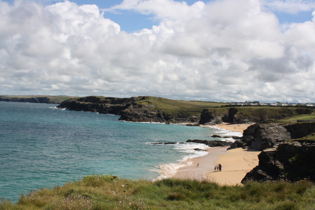 South West Coast Path, Cornwall, Beach