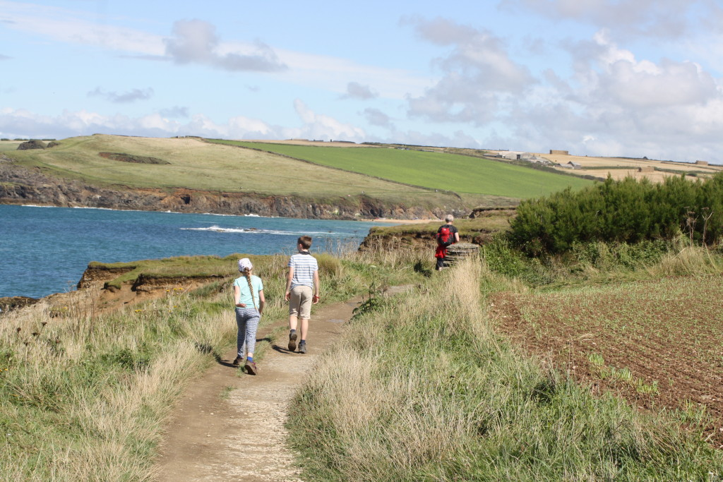 South West Coast Path, Son, Daughter, Cornwall