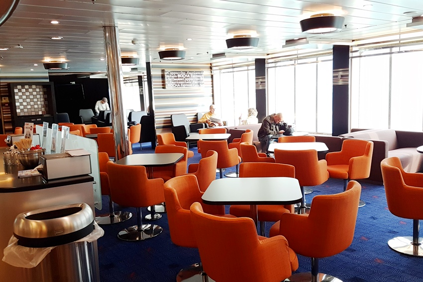 Stena Line, car ferry, ferry to Dublin, Stena Plus, Plus lounge