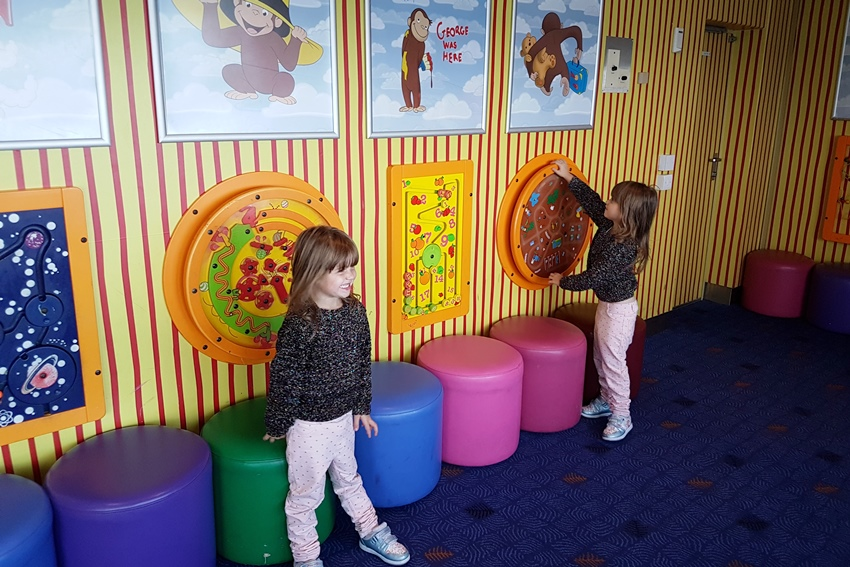 Stena Line, car ferry, ferry to Dublin, play area