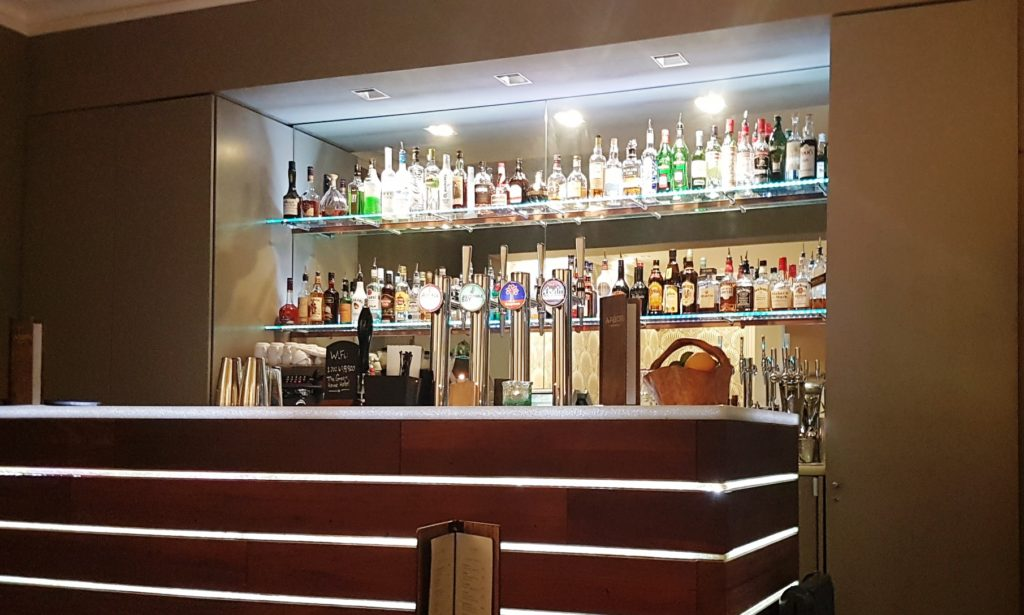The bar at The Green House Hotel Bournemouth