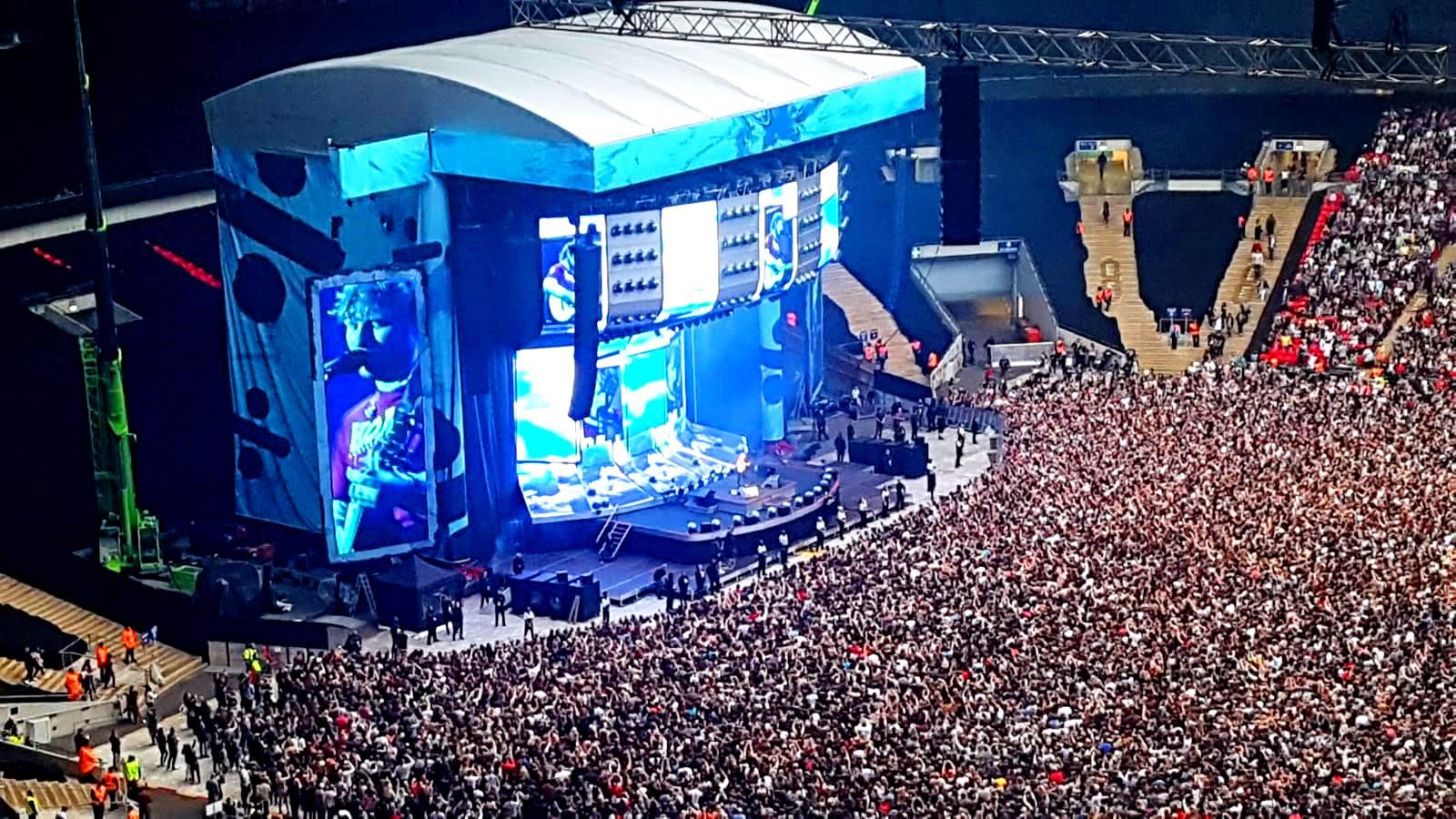 Ed Sheeran Live at Wembley Stadium 2018 Tour - South West ...
